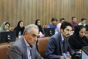 نشست خبری مهندس قربانی با اصحاب رسانه استان هرمزگان
